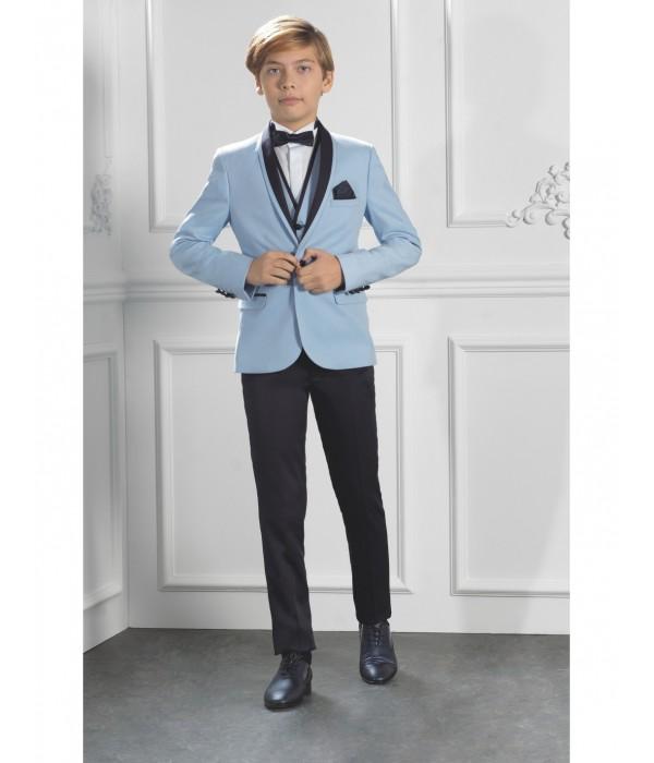 Costume garçon de mariage bleu ciel |...