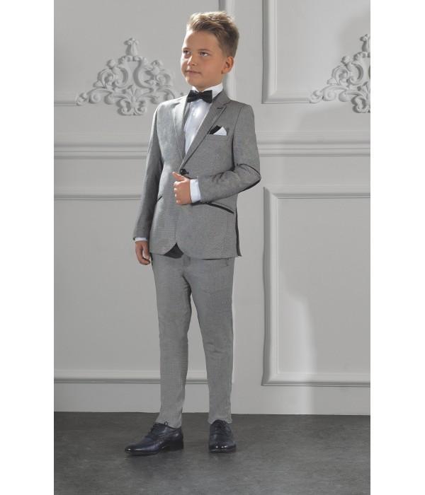 Costume enfant de cérémonie gris |...